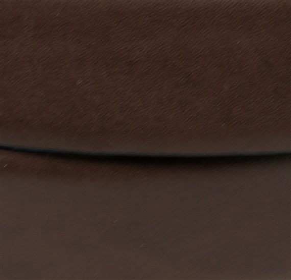 Reversible leather belt detail