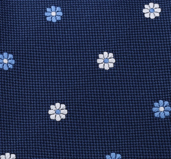 Botti 8 Flowers Tie Fabric