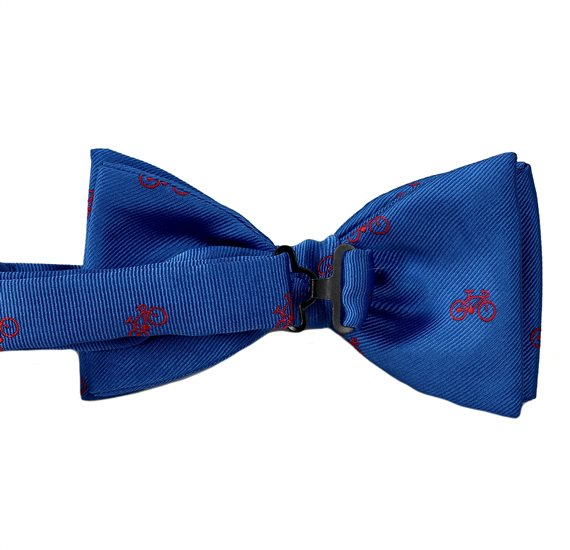 Bow Tie with Bicycles Reverse