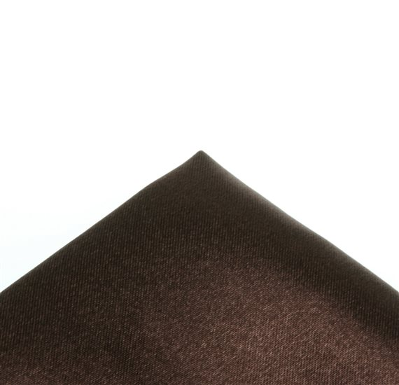 Dark Brown Pocket Handkerchief