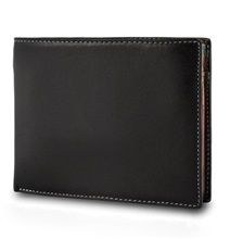 Brown Multicolor Leather Wallet
