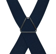 Deep Blue Elastic Braces - Pisa 21