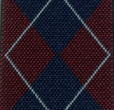 Diamond Argyle Braces Fabric - Pisa 34
