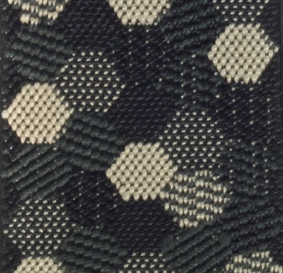 Hexagons Patterned Braces Fabric - Pisa 35