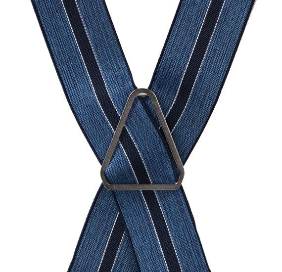Blue Stripes Elastic Braces