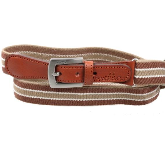 532f58389 Cinturón Niño Elástico Rayas Marrón - Comprar en tienda online de ...