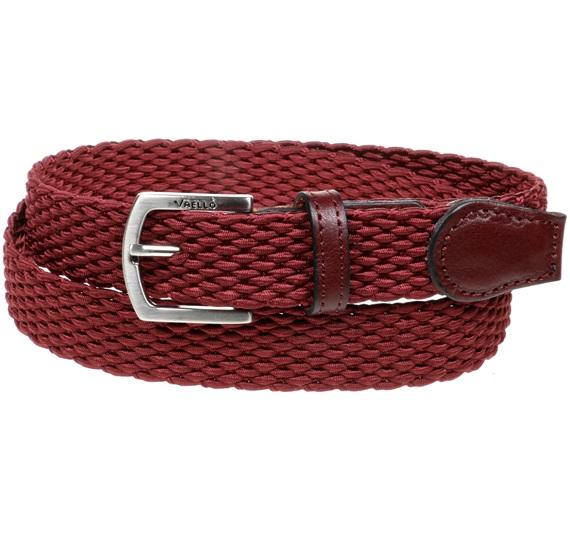 c85ddc9c4 Cinturón Niño Trenzado Granate - Comprar en tienda online de venta ...