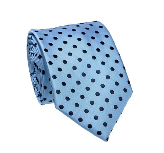 Corbata Azul Celeste con Lunares Azules - Comprar en tienda online ... b3988dbf10d6