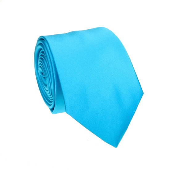 Turquoise Tie and Pocket Square
