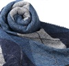 Blue Diamond Argyle Scarf