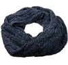 Dark Blue Tubular Scarf