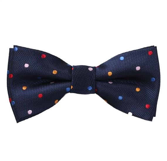 3cc1fe582 Pajarita Niño Azul Lunares Multicolor - Comprar en tienda online de ...