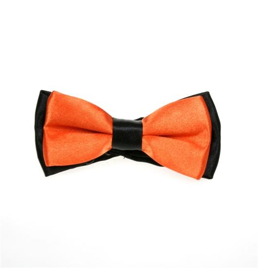 182e168fa Pajarita Niño Bicolor Negra y Naranja - Comprar en tienda online de ...