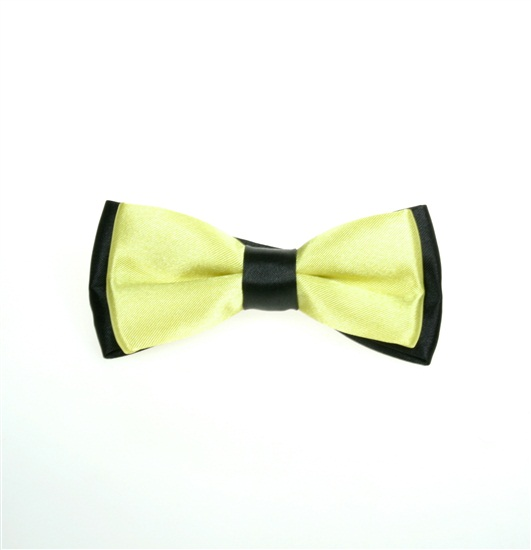 Black and Green Boy's Bow Tie