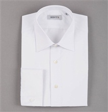 Special Size White Dress Shirt