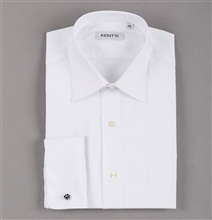Special Size Kent's Formal White Dress Shirt