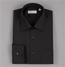 Special Size Black Dress Shirt