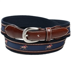 Dark Blue Belt with Riders