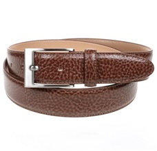 Camel Brown Leather Belt