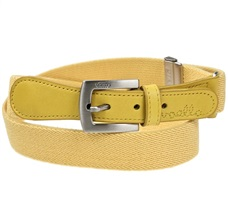 Boy's Yellow Elastic Belt