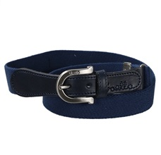 Boy's Blue Elastic Navy Belt