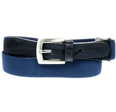 Deep Blue Elastic Boy Belt
