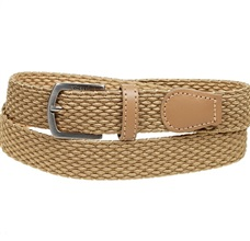 Boy's Gold Beige Elastic Belt
