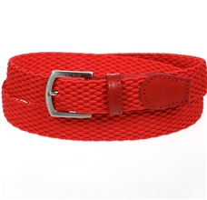 Boy's Red Elastic Belt