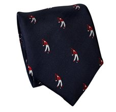 Dark Blue Golf Teenager's  Tie