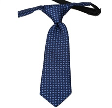 Dark Blue Baby's Tie with Cashmere