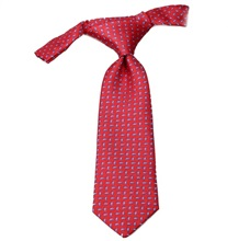 Red Baby's Tie with Cashmere