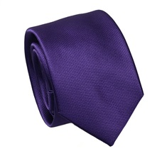 Dark Purple Slim Tie