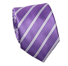 Mallow Striped Tie