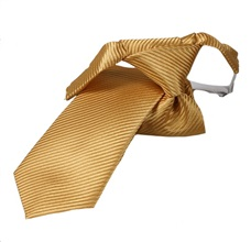 Gold Yellow Boy's Tie