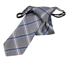 Boy's Tie with Grey Square
