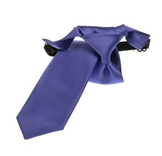 Purple Boy's Tie