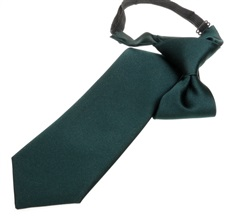 Dark Green Boy's Tie