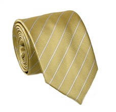 Green Stripes Tie