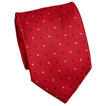 Vermelha Tie with Dots