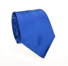 Royal Blue Tie and Pocket Square