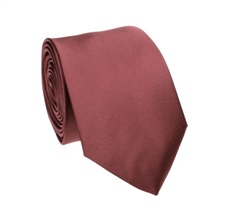Bordeaux Tie and Pocket Square