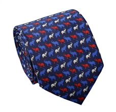 Elephants Silk Tie and Pocket Square