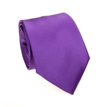 Purple Tie and Pocket Square
