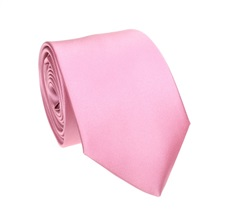Pink Tie and Pocket Square