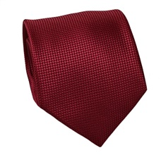 Garnet Natural Silk Tie and Pocket Square