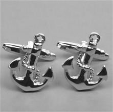 Anchor Boat Cufflinks