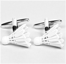Badminton Cufflinks