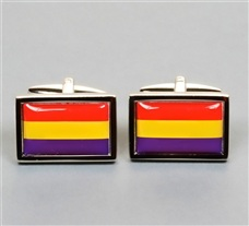 Republic Flag Cufflinks
