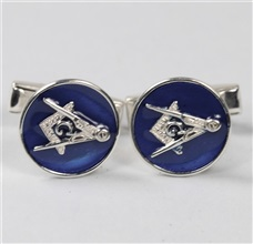 Lodge Silver 925mm Cufflinks