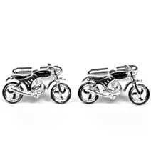 Motorcycle Metal Cufflinks